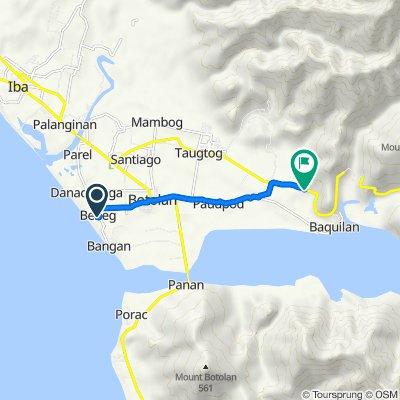 Philippines, Botolan to Zambales - Tarlac Road, Botolan