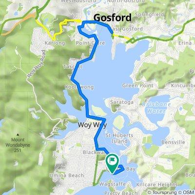 Ettalong to Gosford Return