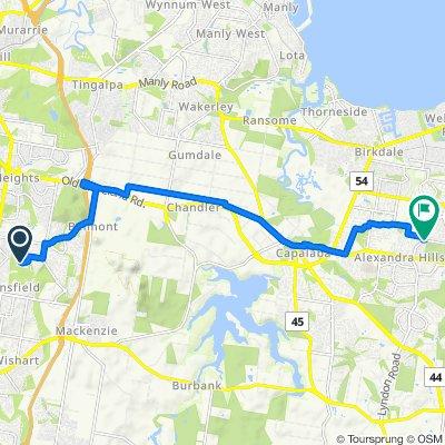 29–33 Saint Andrews Crescent, Carindale to 2–4-6 McMillan Road, Alexandra Hills