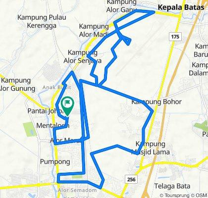 Route Alor Merah - Airport - Alor Merah