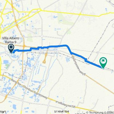On Nut 80 Yaek 5 32/250 to Thanon Theppharat-Lat Krabang, Tambon Preng