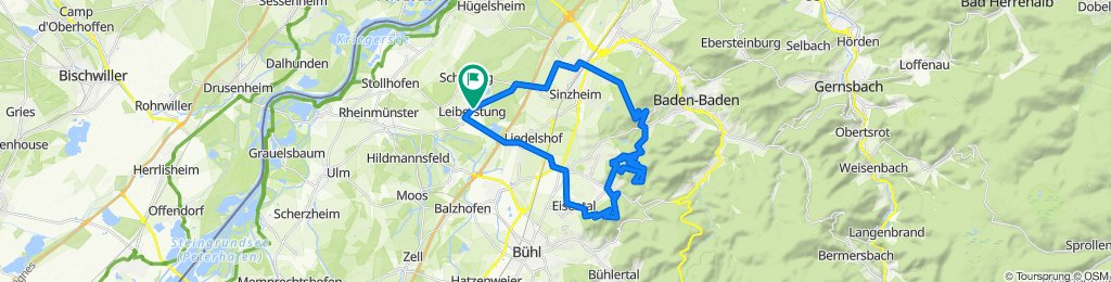 Schartenberg-Y Burg - Fremersberg