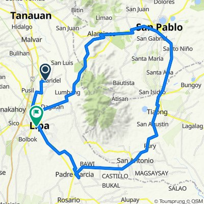 Unnamed Road, Lipa to Kapitan Simeon Luz Street 12a, Lipa