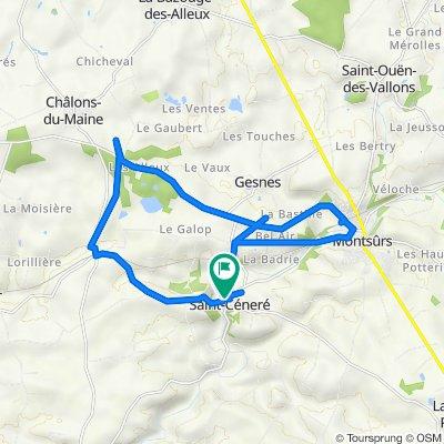 De Lotissement du Champ de la Jouanne 577, Saint-Céneré à Rue Principale 4, Saint-Céneré