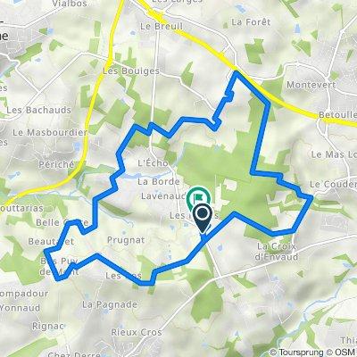 De 2–4 Allée de la Forêt, Verneuil-sur-Vienne à 2 Allée de l'Orée du Bois, Verneuil-sur-Vienne