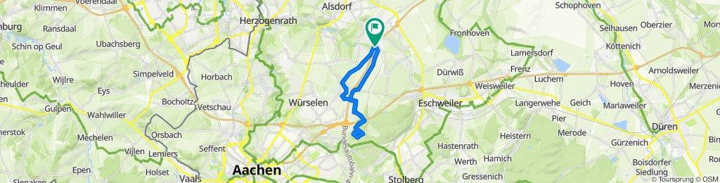 Aachener Straße 121, Alsdorf nach Aachener Straße 121, Alsdorf
