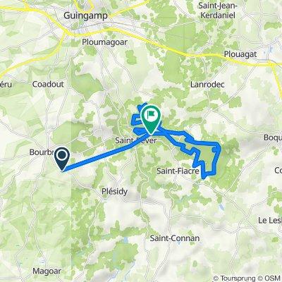 De D22, Bourbriac à D24, Saint-Péver