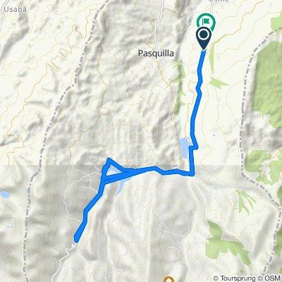De Vía Parque Natural Del Sumapaz a Vía Parque Natural Del Sumapaz, El Condor