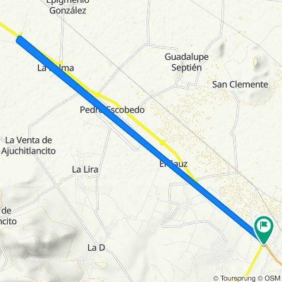 De Paseo del Abanico, Arcila a Pedro Escobedo-San Juan del Río, La Estancia