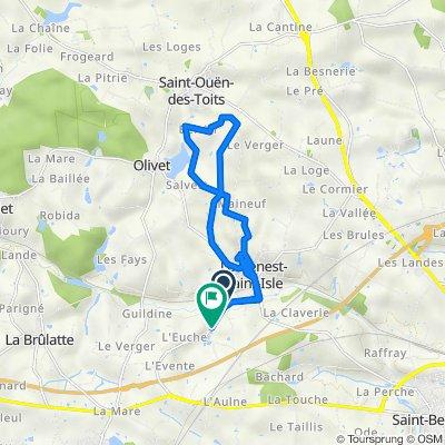 De Route du Genest, Le Genest-Saint-Isle à Route du Genest 1411, Le Genest-Saint-Isle