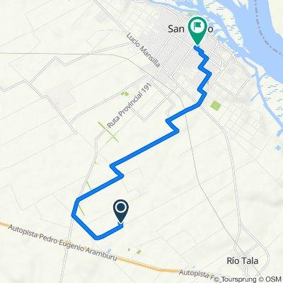 Ruta a General Las Heras 802–900, San Pedro