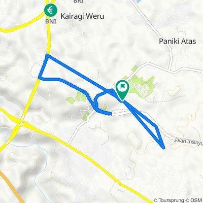 Unnamed Road, Talawaan to Unnamed Road, Talawaan