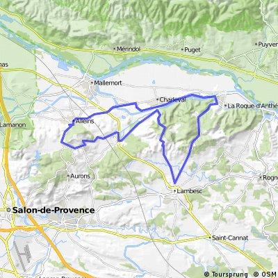 Calvaire-Col de séze-Col st Anne