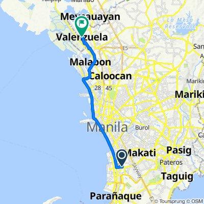 Easy ride in Valenzuela