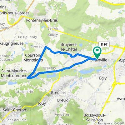 De 35 Résidence du Val, Ollainville à 9 Résidence du Val, Ollainville