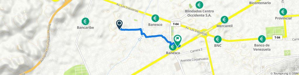 De Avenida 22, Barquisimeto a Avenida Florencio Jiménez, Barquisimeto