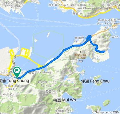 22 Cheung Tung Road, Tung Chung to 22 Cheung Tung Road, Tung Chung