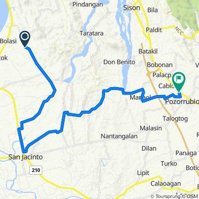 Mabilao-Palapad Road, San Fabian to Manaoag - Pozzorubio Road, Pozorrubio