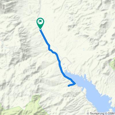 Route to Lizard Leap Lane 178, Tonto Basin