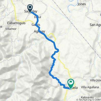Provincial Road 200, Saguday to Cordon - Diffun - Maddela - Aurora Road