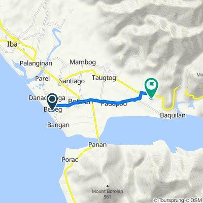 Philippines, Botolan to Unnamed Road, Botolan