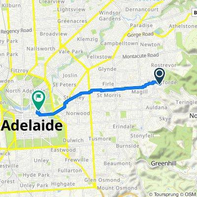 Kintyre Road - Uni Adelaide