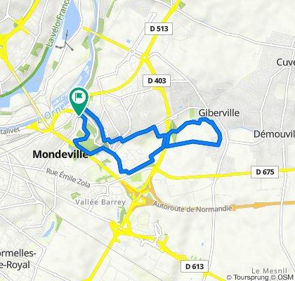 De Rue Calmette 58, Mondeville à Rue Calmette 58, Mondeville