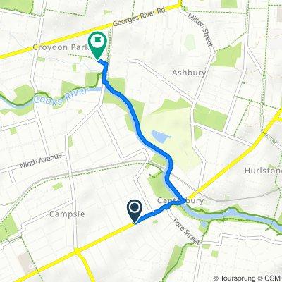 353 Canterbury Road, Canterbury to 7 Wentworth Street, Croydon Park