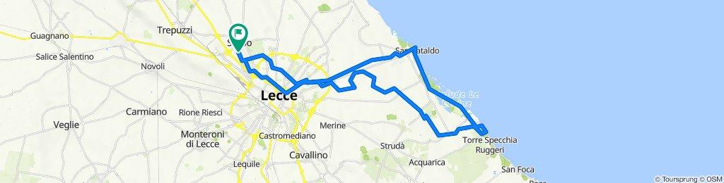 Da Via Lecce 151, Surbo a Via Lecce 155, Surbo