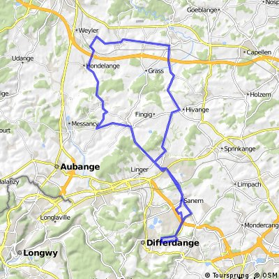 Differdange - Sterpenich - Differdange