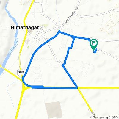 Mahakali Mandir Road 69, Himatnagar to Mahakali Mandir Road 69, Himatnagar