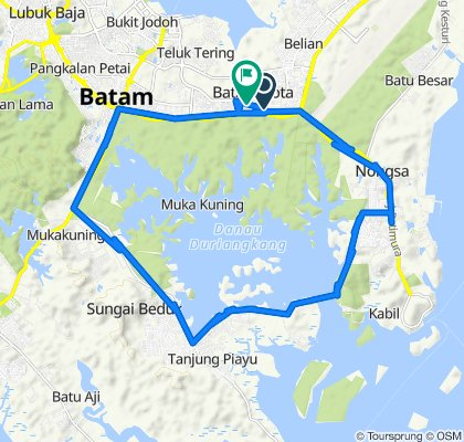 Jalan Punai 7 10, Kecamatan Batam Kota to Belian, Batam Kota
