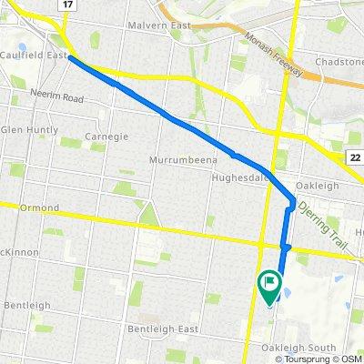 9 Delos Street, Oakleigh South to 14 Delos Street, Oakleigh South