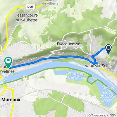 De 2 Rue Emilio Boggio, Vaux-sur-Seine à 5 Rue Gambetta, Meulan-en-Yvelines