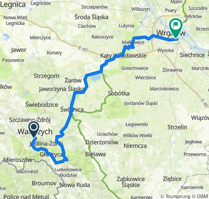 Wałbrzych - Głuszyca - Wrocław