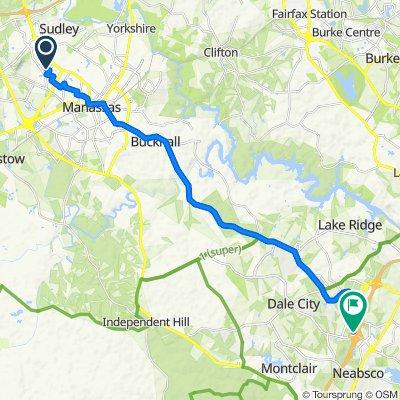 8300 Sudley Rd, Manassas to 14716 Potomac Mills Rd, Woodbridge