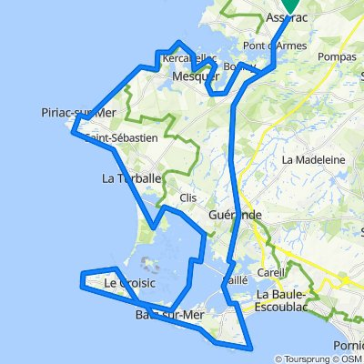 Frontière 20Km A - Ouest Sud Ouest