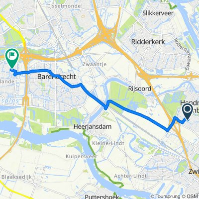Breedeweer 37–61, Hendrik-Ido-Ambacht to Dassenburg 7, Barendrecht