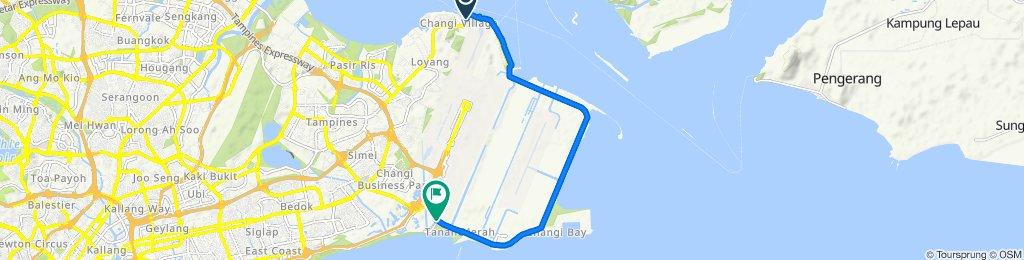 Lorong Bekukong, Singapore to Changi Coast Walk, Singapore