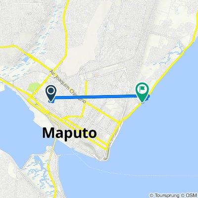 De Unnamed Road, Maputo a Avenida da Marginal, Maputo