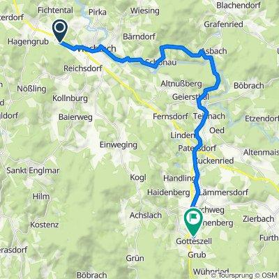 Viechtach Gotteszell einfach 30km