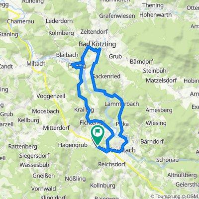 Viechtach-Bad Kötzing 37km