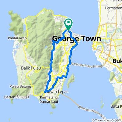 Jalan Burma 268, George Town to Jalan Burma 268, George Town