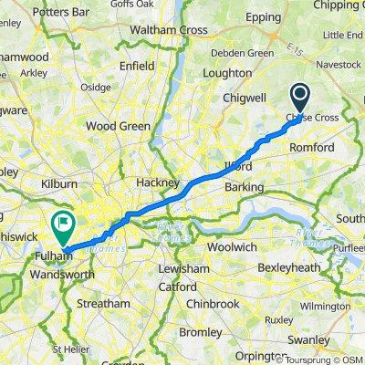 Boxmoor Road 51 to Fulham Road