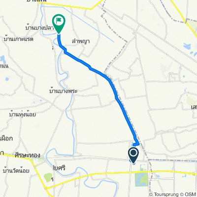 Route to นฐ. 3049, Bang Len