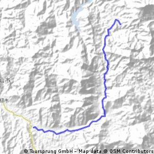 2010五只山爬坡賽