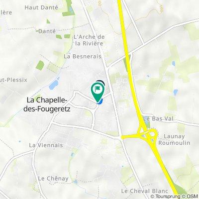 De 5 Avenue de l'Orée, La Chapelle-des-Fougeretz à 3 Rue du Val, La Chapelle-des-Fougeretz