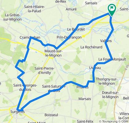 Surgères +70 km