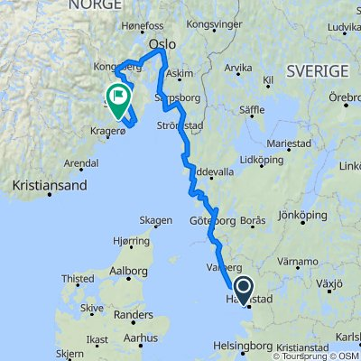 eurovelo 12 start Zweden