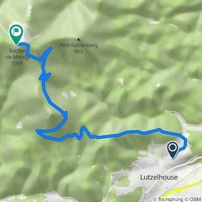 Itinéraire à partir de 15 Rue du Sperl, Lutzelhouse